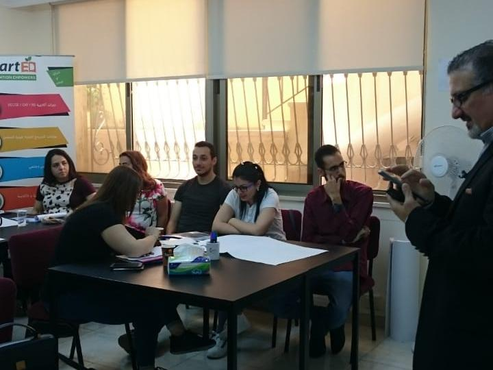 INEE PROGRAMME TRAINING - EDUCATION UNIT CARITAS JORDAN