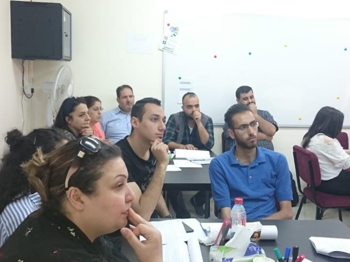INEE PROGRAMME TRAINING - EDUCATION UNIT CARITAS JORDAN