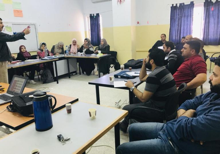 TRAINING TEACHERS PALESTINE – HEBRON – RAMALLAH - NABLUS CAMBRIDGE INTERNATIONAL CERTIFICATE IN TEACHING AND LEARNING